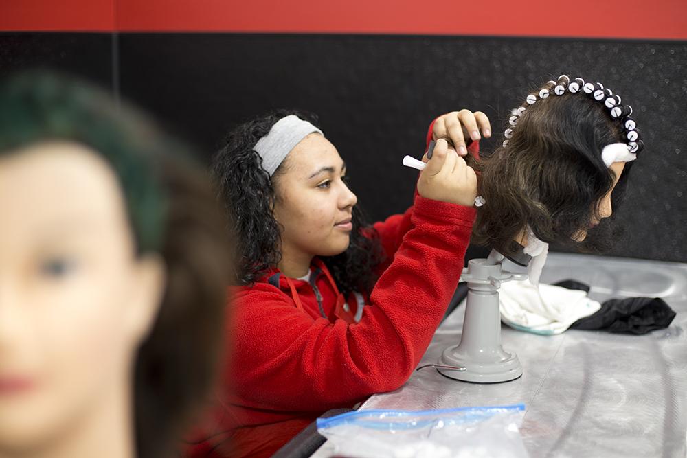 Newark, Delaware hair design school